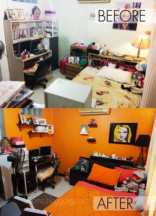 renovate orange bedroom review (44)