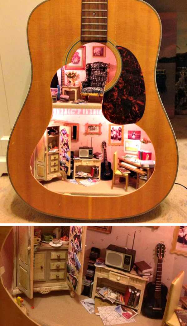repurpose-guitar-miniatur-house