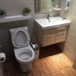 Review : รีโนเวทพื้นห้องน้ำงบไม่ถึงสามพัน แต่อารมณ์ราวกับได้ห้องน้ำใหม่!!
