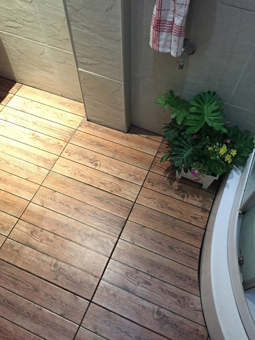 restroom floor tile renovation (35)