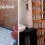 Review : รีโนเวทฉบับ DIY เปลี่ยนห้องน้ำเก่าทรุดโทรม ให้ใหม่เอี่ยมน่าใช้งาน