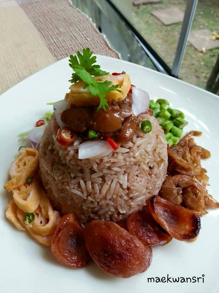 shrimp paste fried rice recipe (1)