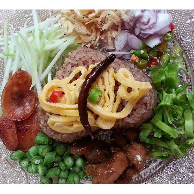 shrimp paste fried rice recipe (3)