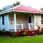 บ้านรีสอร์ทขนาดเล็ก สัมผัสบรรยากาศสวนสวย บนระเบียงหน้าบ้านสุดชิลล์