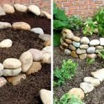 """ชวนมาทำ """"DIY สวยลายก้นหอย"""" สำหรับปลูกพืชผักสวนครัว หรือดอกไม้สวยๆ"""