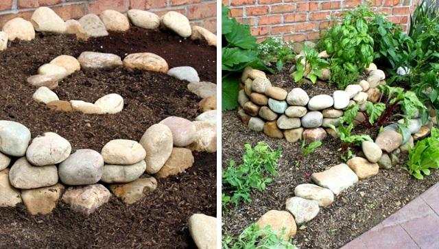 spiral garden diy cover