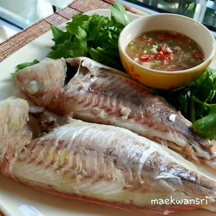 steam fish with chile dipping recipe (1)