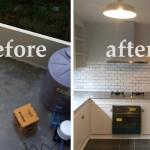 Review : ต่อเติมพื้นที่ว่างหลังทาวน์โฮม ให้เป็นห้องครัวสีขาวแสนสวย