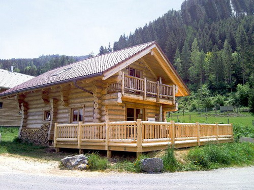 traditional rustic log cabin (5)