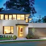 บ้านร่วมสมัยสองชั้น ตกแต่งแบบโมเดิร์น 4 ห้องนอน รองรับครอบครัวใหญ่