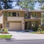 บ้านร่วมสมัยสองชั้น ตกแต่งแบบทูโทน แฝงความภูมิฐานแก่ตัวบ้าน