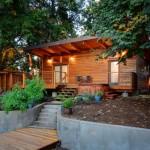 บ้านสวนโมเดิร์น ออกแบบเรียบง่าย ให้อารมณ์รัสติค