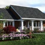 บ้านสไตล์คันทรี ตกแต่งสวยงาม แฝงความภูมิฐานให้ที่รูปทรง