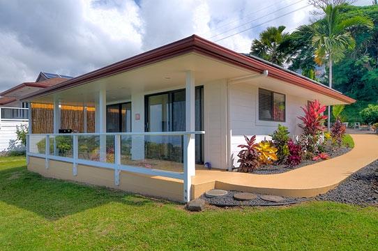 white small cozy villa on hill (1)