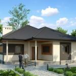 บ้านเดี่ยวร่วมสมัย ขนาดกะทัดรัด ในงบประมาณที่พอดีกับครอบครัวแรกเริ่ม