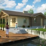 บ้านร่วมสมัย ออกแบบคู่หลังคาจั่ว รองรับการใช้งานแบบคนไทย