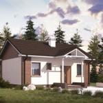 บ้านเดี่ยวร่วมสมัย ขนาดเล็กกะทัดรัด ตกแต่งน่ารักและสวยงาม