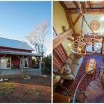 บ้านคอทเทจจากไม้ มาพร้อมชั้นลอยและเฉลียงหน้าบ้าน ความสุขที่อิงแอบธรรมชาติ