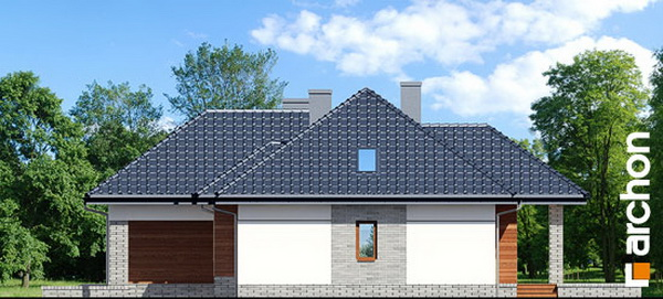 1 storey hip roof comfortable contemporary house (5)