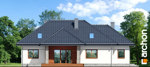 1 storey hip roof comfortable contemporary house (6)