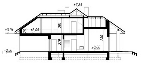 1 storey hip roof comfortable contemporary house (9)