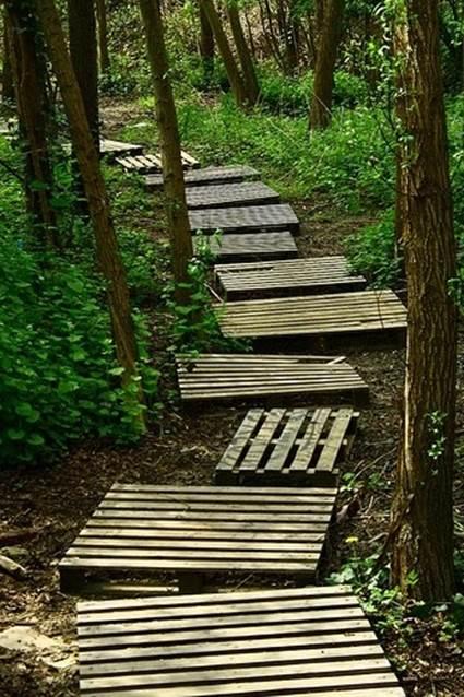 10 garden walk path designs (10)