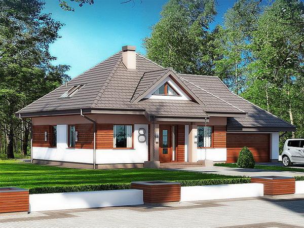 2 storey hip roof modern house (1)