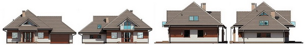 2 storey hip roof modern house (3)