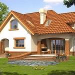 แบบบ้านเดี่ยวขนาดสองชั้น แต่งอิฐสวย ดีไซน์อบอุ่น เพื่อชีวิตครอบครัวแสนสุข