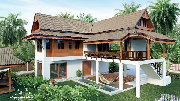 2 storey thai contemporary house (1)