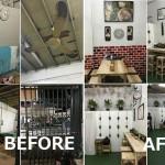 Review : รีโนเวทร้านอาหารเก่าอายุ 50 ปี ให้กลายเป็นร้านในฝันในงบ 30,000 บาท