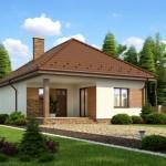 บ้านร่วมสมัย ขนาดเล็กกะทัดรัด ตกแต่งด้วยไม้และอิฐโชว์แนว