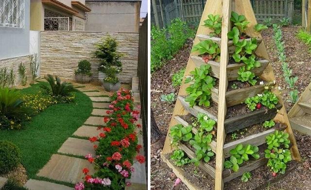 7 ideas for small garden cover
