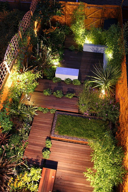 8 ideas to decorate small yard (6)