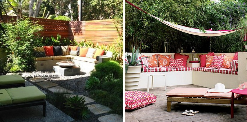 8 ideas to decorate small yard cover