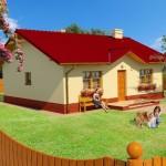 บ้านขนาดเล็ก ดีไซน์เรียบง่าย 2 ห้องนอน 2 ห้องน้ำ