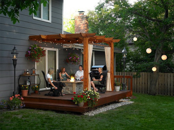 9 ideas to create backyard garden (6)