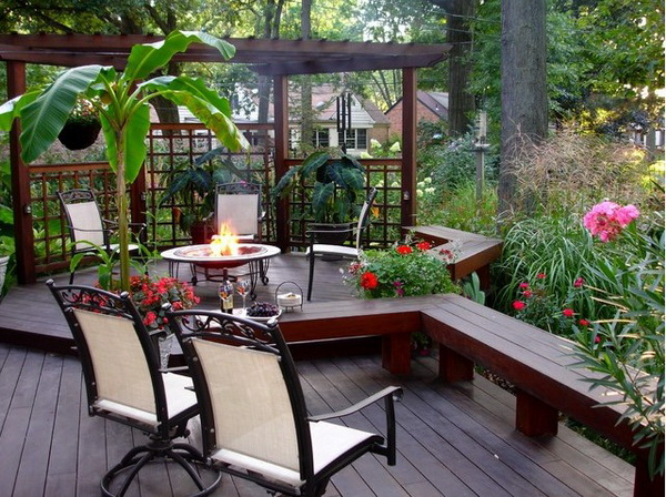 9 ideas to create backyard garden (7)