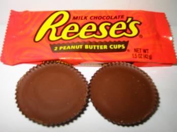 Chocolate Covered Reese's Stuffed Oreos recipe reeses