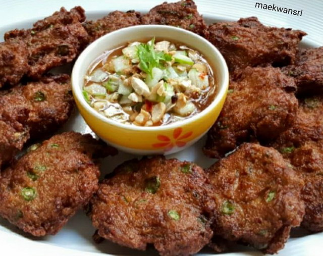 Fried Fish-paste ball recipe (2)