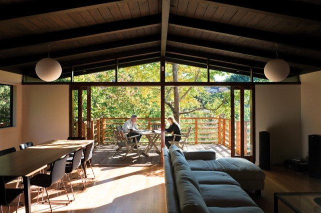 Glade-House-modern-home-with-low-pitched-gabled-roof-raking-ceilings-and-exposed-rafters-4