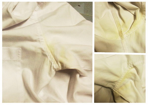 cleaning yellow stain (2)