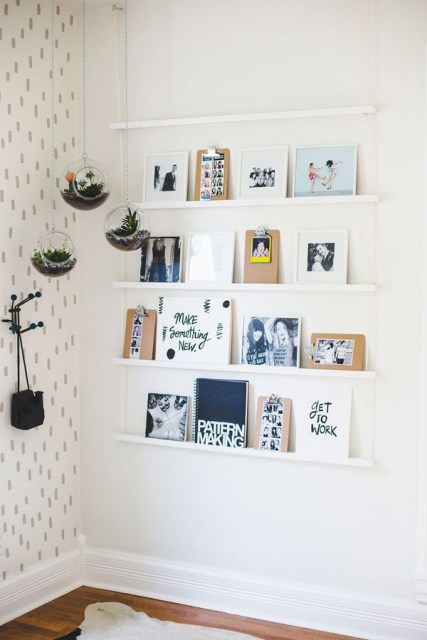 cool-ideas-to-display-family-photo-walls