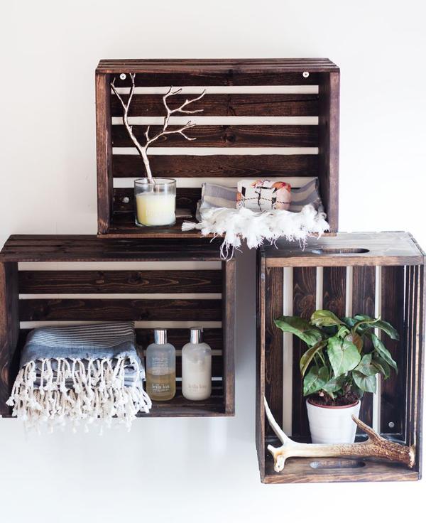 diy-wood-crate-hanging-shelves
