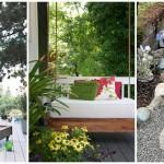 23 ไอเดีย DIY ของตกแต่งสวน สร้างพื้นที่พักผ่อนอันแสนง่าย