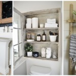 19 ไอเดีย DIY พื้นที่เก็บของในห้องน้ำ ออกแบบง่ายๆ สไตล์ชิค