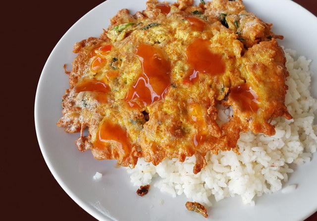 fried basil omelette recipe (10)
