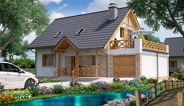 gable resort house with nice terrace (1)