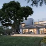 บ้านโมเดิร์นสองชั้น ทันสมัยด้วยรูปทรงและวัสดุ สวยงามและภูมิฐาน