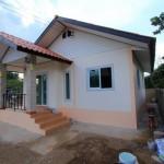 แบบบ้านชั้นเดียวงบถูก ดีไซน์เรียบง่ายกะทัดรัด ขนาด 2 ห้องนอน 1 ห้องน้ำ